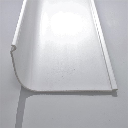 18 Quot Under Cabinet Diffuser White Ribbed Replacement Cover