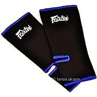 Fairtex Premium Ankle Supports Black & Blue