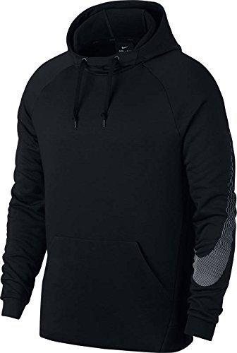 Nike Men's Dry Linear Logo Hoodie (Binary Blue/Pure Platinum', MEDIUM)