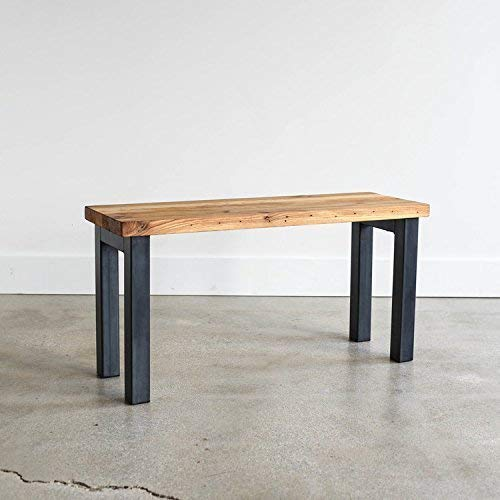 Admirable Amazon Com Butcher Block Reclaimed Wood Bench Handmade Evergreenethics Interior Chair Design Evergreenethicsorg