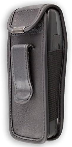 caseroxx Bolsa de Cuero con Clip para el cintur/ón para Nokia 3210 Funda Carcasa de Cuero Real en Negro