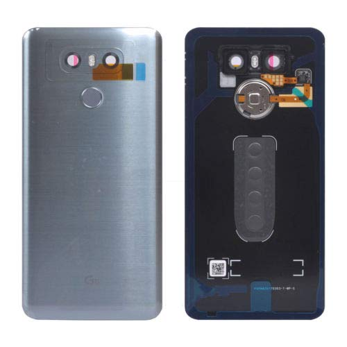 Glass Battery Back Cover for LG G6 - Battery Door Cover + Fingerprint Flex Sensor + Camera Glass Lens Cover Replacement Parts (Waterproof) with Opening Tool (as The Picture) for LG G6 Verizon VS988 from UPONEW