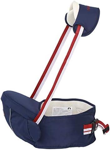 Blue Portabeb/és para la cadera del beb/é Taburete para la cintura del beb/é para ni/ños peque/ños con bolsillo ajustable con