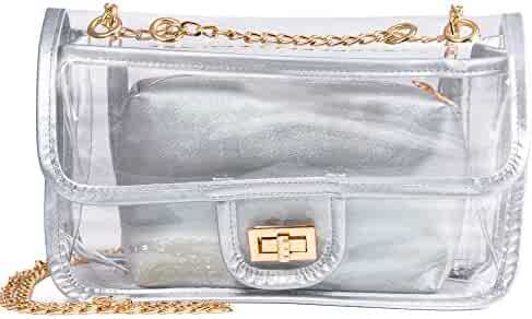 0c72bd83a59f Shopping 4 Stars & Up - Silvers or Clear - Handbags & Wallets ...