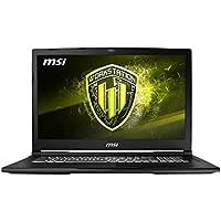 MSI WE63 8SJ-235 (i7-8750H, 32GB RAM, 512GB NVMe SSD, NVIDIA Quadro P2000 4GB, 15.6 Full HD, Windows 10 Pro) Workstation Laptop