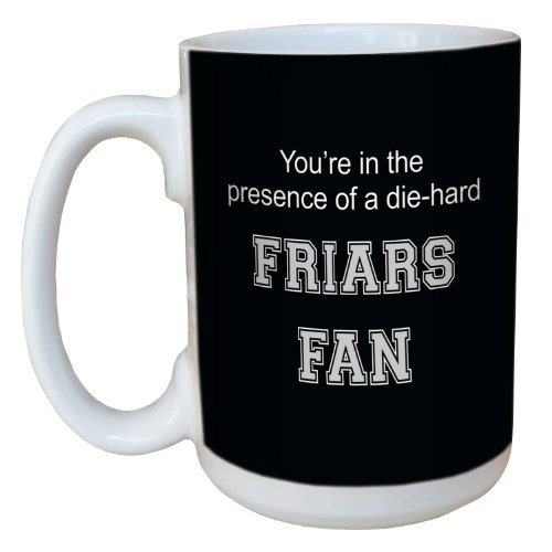 Tree-Free Greetings lm44852 Friars College Basketball Ceramic Mug with Full-Sized Handle, 15-Ounce