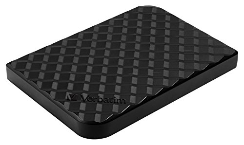 (Verbatim 1TB Store 'n' Go Portable Hard Drive, USB 3.0, Diamond Black  97395)