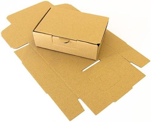 50 x Maxibriefkartons DIN A6 150 x 105 x 46 mm Braun