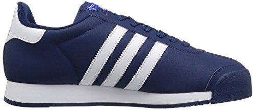 adidas Originals Herren Samoa Retro Sneaker Mystery Blue White / Satellit