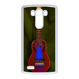 Guitars LG G3 Cell Phone Case White Mncut