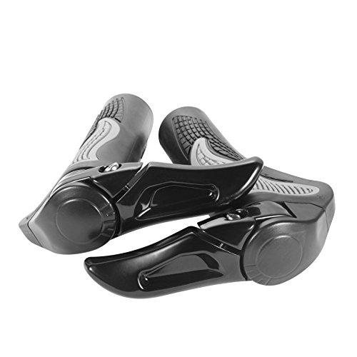 22.2mm PRUNUS Ergonomic Design Rubber MTB Mountain Bike Handlebar Grips