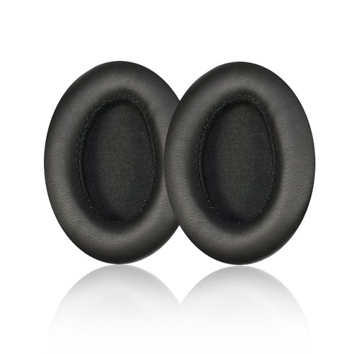 Replacement Earpad ear pad cushions For Monster beats by Dr. Dre Studio Headphones - Old Version (Not For Solo Headphones) With IT IS Logo Headphone Cable Cord Clip (Monster Beat Dr Dre)