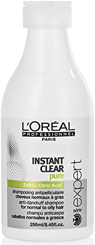 LOréal Expert Instant Clear Purifying Anti-Dandruff - Champú, 250 ml