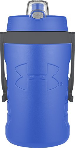 Under Armour Sideline 64 Ounce Water Bottle, Blue Jet