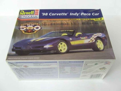 Revell Monogram 2558 '98 Corvette Indy Pace Car - Plastic Model Kit - 1:25 Scale