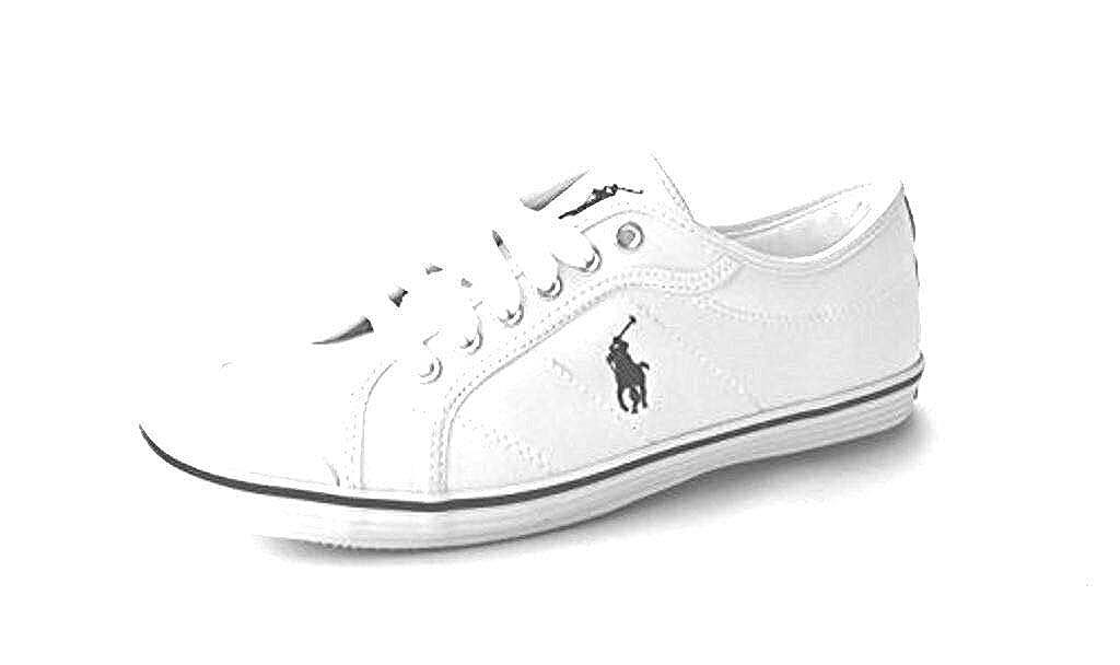Ralph Lauren Zapatillas Lona para Mujer Blanco (Los zapatos son de ...