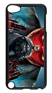 iPod Touch 5 Case, iPod 5 cases - Highly Protective Back Case Cover for iPod 5 Batman Under The Red Hood Scratch-Resistant Black Hard Case Cover For iPod Touch 5