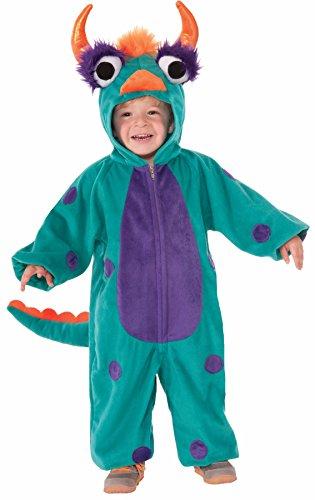 Infant Monster Baby Green Costumes (Forum Novelties Toddler Green Monster Costume)