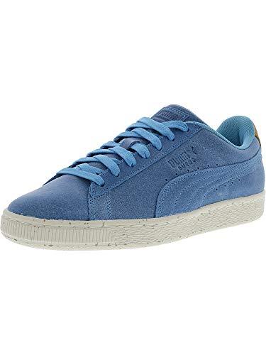PUMA Men's Suede Deco Aquarius/Golden Brown Ankle-High Fashion Sneaker - 10M (Puma Shoes Men Brown Suede)