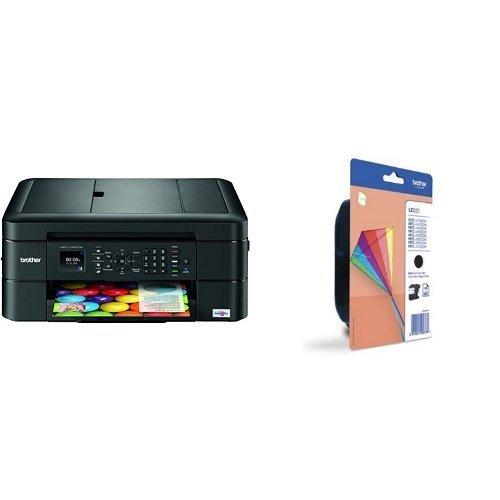 Brother MFC-J480DW - Impresora multifunción de tinta, color negro ...