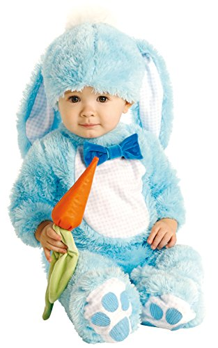 Baby And Toddler Rabbit Costumes (Rubie's Baby Handsome Lil Wabbit Costume, Blue, 12-18 Months)