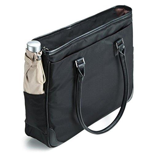 Handle Portable Ordinateur Pouce Designer PINCHU Top Satchel Léger Fourre 13 Bureau Tout Femmes Élégant 3 Lady Serviette Business Sac Black w0ASUqf