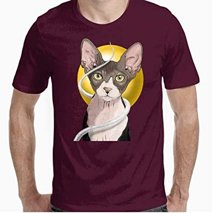 Positivos Camisetas Gato Egipcio - M