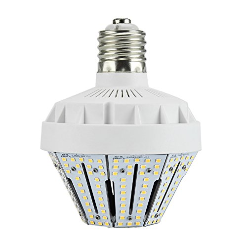 New Sunshine 50W LED Corn Light Bulb for Indoor Outdoor E26 7711LM 3000K Warm White Replacement for 150W CFL/MH/HID/HPS for Low Bay Street Lamp Post Lighting Garage Factory Warehouse (50) - Mh Low Bay