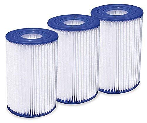 Summer Waves Type A/C Pool Filter Cartridge - 3 pack
