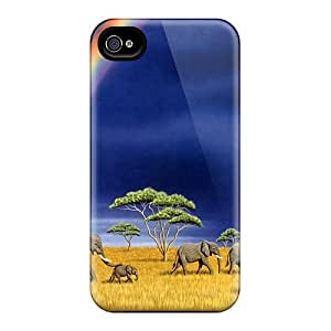 Forever Collectibles Elephants Rainbows Hard Snap-on Iphone 6 Cases