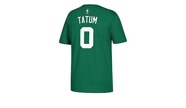 Adidas Boston Celtics Jason Tatum Verde Nombre y número Camiseta, Verde: Amazon.es: Deportes y aire libre