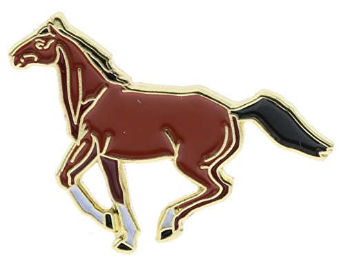 - Sujak Military Items Running Horse Hat or Lapel Pin AVAP0233