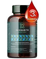 MELATONIN PLUS COMPLEX 120 kapslar | Jungfrufröolja | 5HTP | GABARelax | Marint magnesium | COMPLEX B-vitaminer | 3X absorberbart | Hög biotillgänglighet | Slappna av och vila | Hög biotillgänglighet | Slappna av och vila
