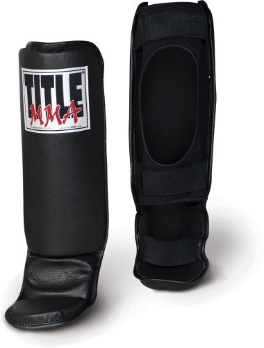 TITLE MMA Grappling Shin/Instep Guards, X-Large
