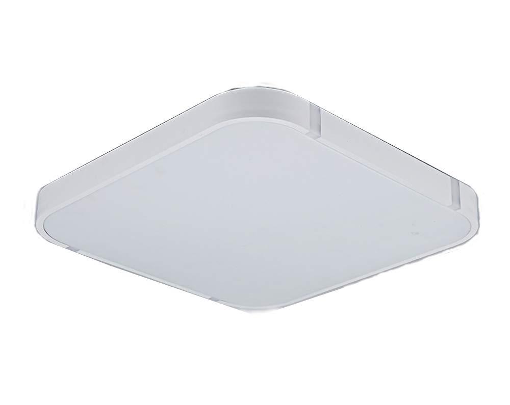 Stylehome 24W Weiss LED Deckenlampe Küchenlampen 3000-6000K volldimmbar mit Farbwechselfunktion I7 450 * 450mm [Energieklasse A++] Sinoma Europe GmbH I7W-24W-VD