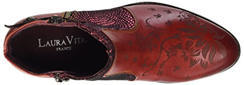 Laura Vita Women's Alice 007 Ankle Boots Red (Rouge Rouge) vmwIOsPGl