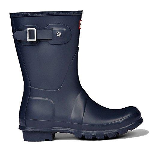 Handcrafted Casual Footwear (Hunter Womens Original Short Navy Matte Rain Boot - 10 B(M) US)