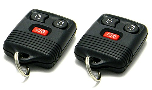 Pair of OEM Electronic Keyless Entry Remote Fobs Compatible With Ford Lincoln Mercury (FCC ID: CWTWB1U345 / P/N: 8L3T-15K601-AB)