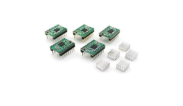TRIGORILLA ANYCUBIC DRV8825 módulo de controlador de motor paso a ...