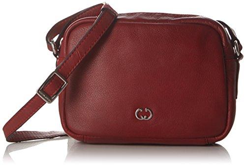 GERRY WEBER Andalucia H, S, Sacs Portés épaule Femme Rouge (Dark Red)