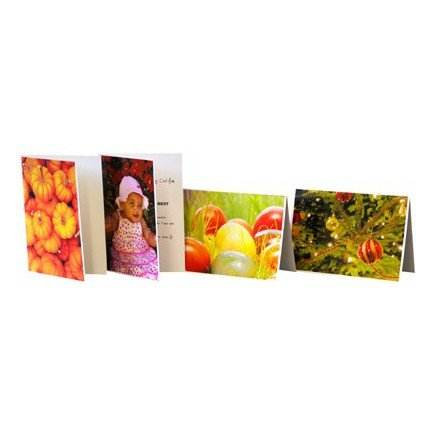 PermaJet A6 Greetings Cards Gloss/Matt A5 Pack 50 [APJ24506]