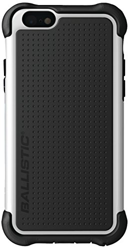 picture of BALLISTIC Tough Jacket Series Case for Apple iPhone 6 - Retail Packaging - White/Black