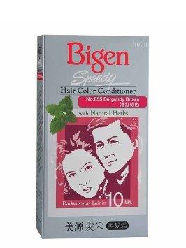 Amazon Com Bigen Speedy Hair Color Conditioner No 855 Burgundy