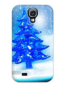 New Diy Design Snowy Christmas Tree For Galaxy S4 Cases Comfortable For Lovers And Friends For Christmas Gifts