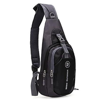 b8cf8471cc85 BOBO Packable Shoulder Backpack Sling Chest CrossBody Bag Cover Pack  Rucksack for Bicycle Sport Hiking Travel