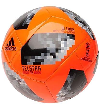 adidas World Cup 2018 Telstar Glider Football Naranja: Amazon.es ...