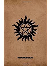 Supernatural: Carry on my wayward son, movie notebook with 100 lined pages, 6x9