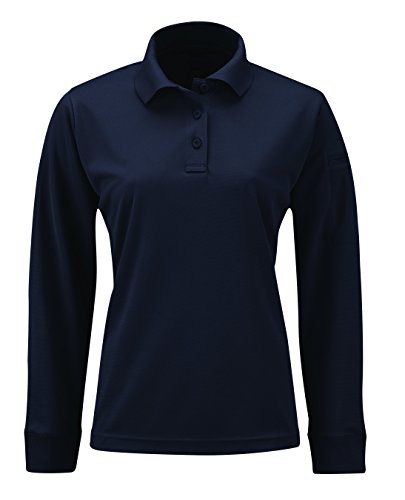Propper Women's Uniform Long Sleeve Polo, LAPD Navy, Small