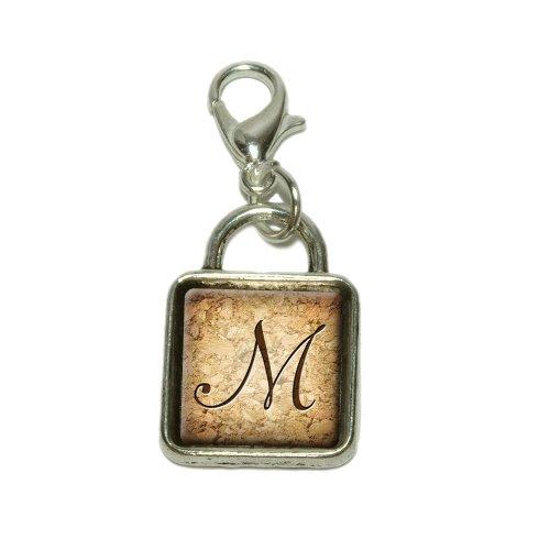 Letter M On Cork Dangling...