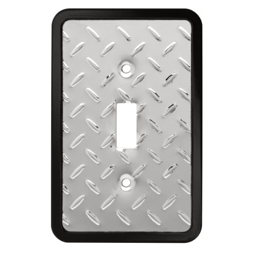 Franklin Brass 135858 Diamond Plate Single Toggle Switch Wall Plate / Switch Plate / ()